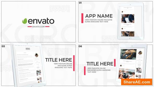 Videohive Pad Pro App Promo