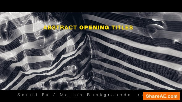 Videohive Abstract Opening Titles