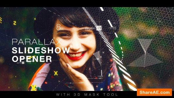 Videohive Parallax Slideshow Opener