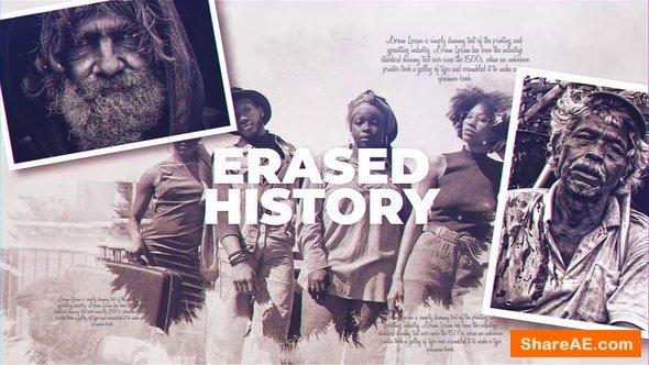 Videohive Erased History
