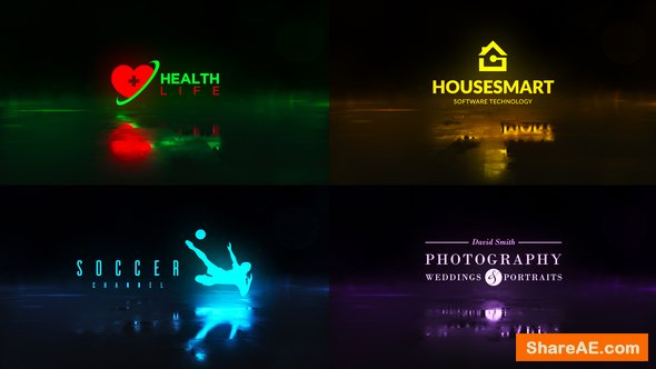 Videohive Words Logo Opener