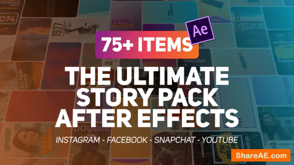 Videohive The Ultimate Story Pack