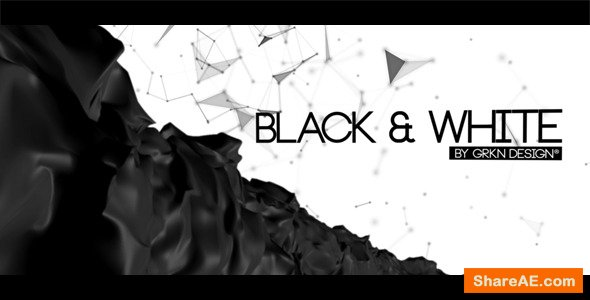 Videohive Black & White - Cinematic Titles