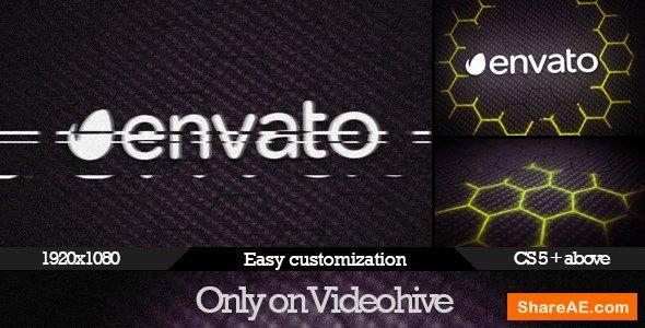 Videohive Dark Glitch Logo Reveal