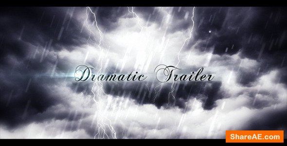 Videohive Dramatic Trailer