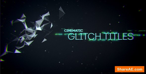 Videohive Cinematic Glitch Titles