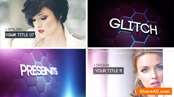 Videohive Glitch Slideshow 2