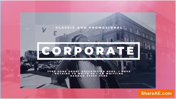 Videohive Modern Corporate
