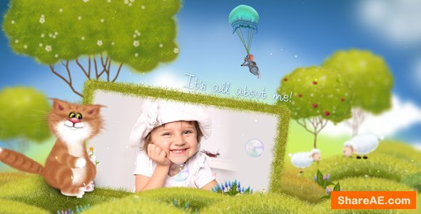 Videohive Summer Kids Album | Family Slideshow