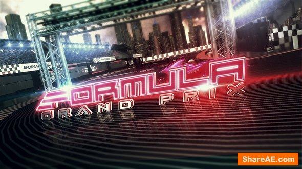 Videohive Formula Racing Opener