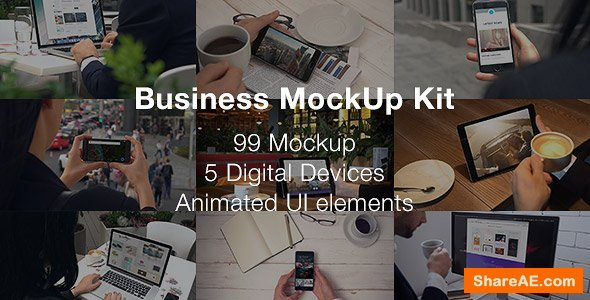 Videohive Business Mockup Kit