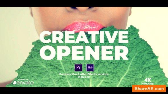 Videohive Opener - Premiere Pro