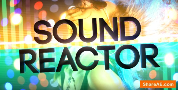 Videohive Sound Reactor Titles & Lower Thirds