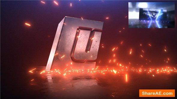 Videohive Steel Impact Logo