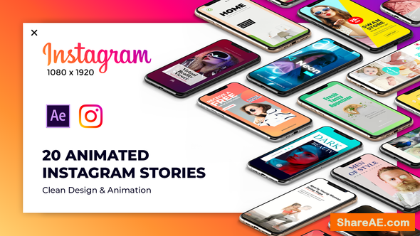 Videohive Instagram Stories Package 2