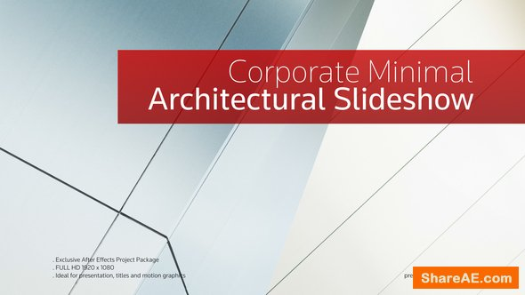 Videohive The Architectural Opener