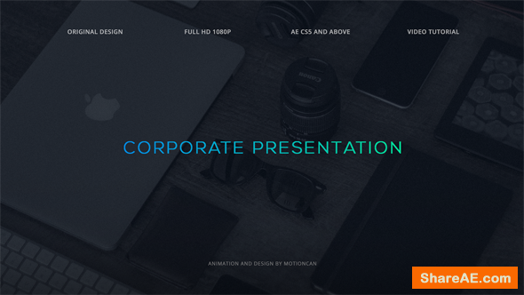 Videohive Corporate Presentation 17620152
