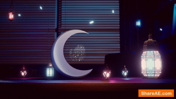 Videohive Ramadan Animation » free after effects templates | after