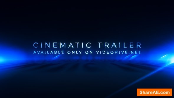 Videohive Cinematic Trailer Titles | Media Opener