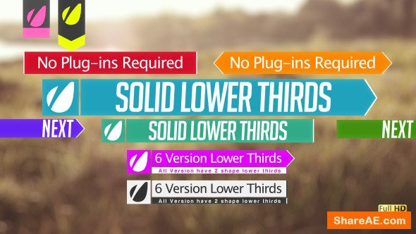 Videohive Lower Thirds 5379988