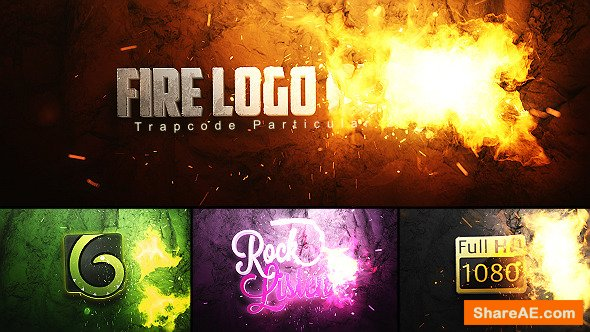 Videohive Fire Logo Reveal 11108111