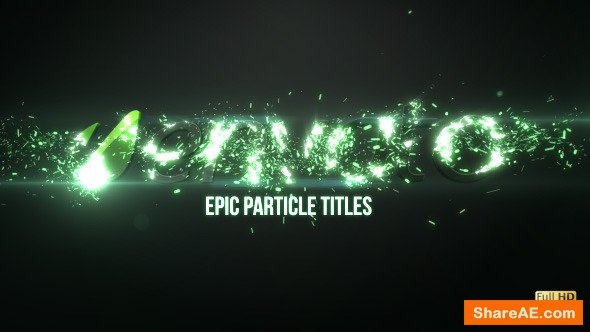 Videohive Epic Particle Titles