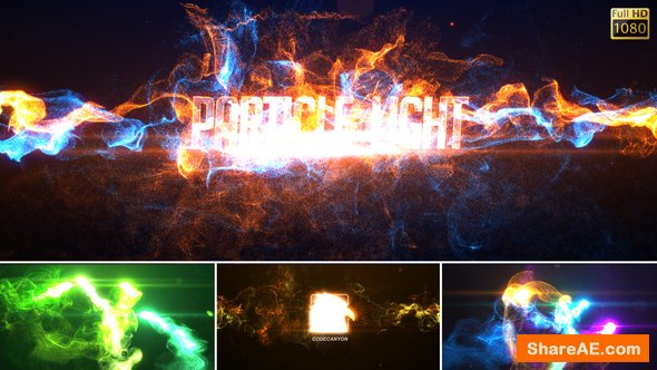 Videohive Particle Light Reveal 22385801