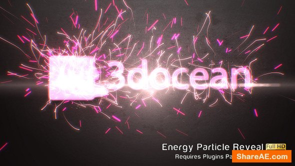 Videohive Energy Particle Reveal
