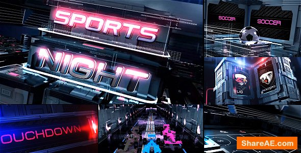 Videohive Sports Broadcast Pack