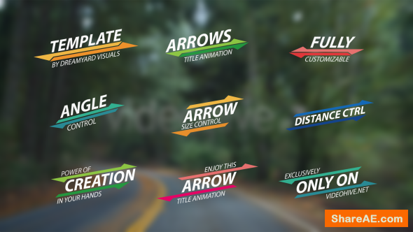 Videohive Summer Arrow Titles