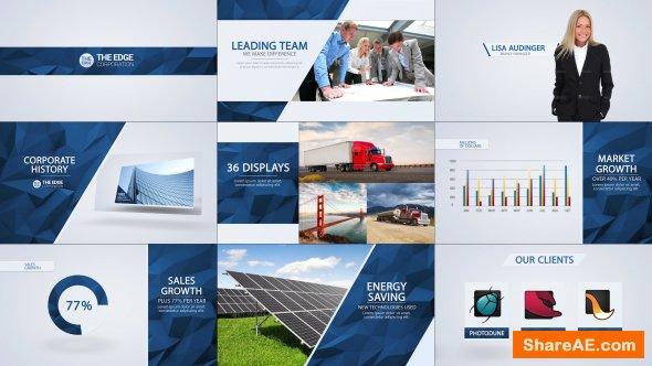Videohive The Edge - Corporate Video Package