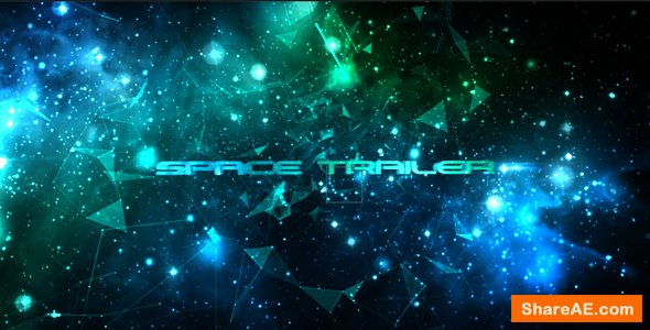 Videohive Space Trailer 13938286