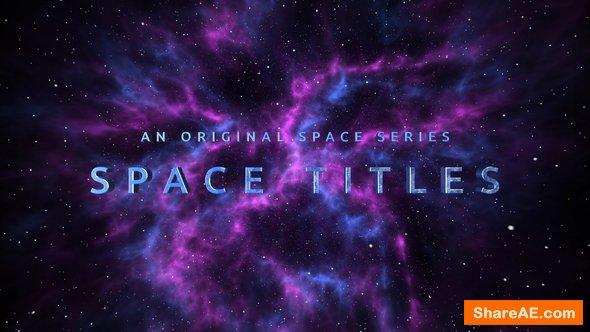 Videohive Space Trailer 22015758