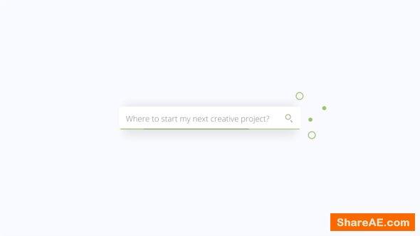 Videohive Simple Search Logo