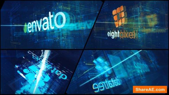Videohive High Tech Logo V09 Electric Glitch