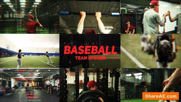 Videohive Baseball Team Opener
