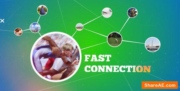 Videohive Fast Connection Intro