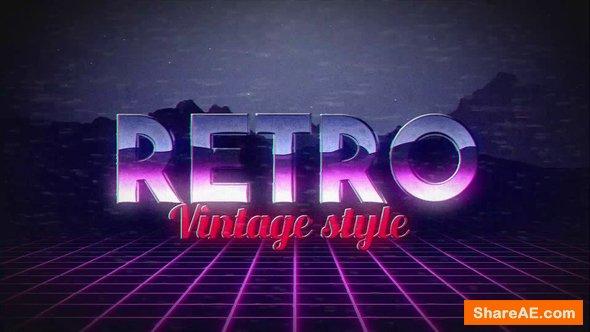 Videohive Retro Title