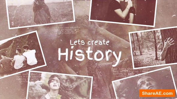 Videohive Lets Create History