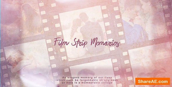 Videohive Film Strip Memories