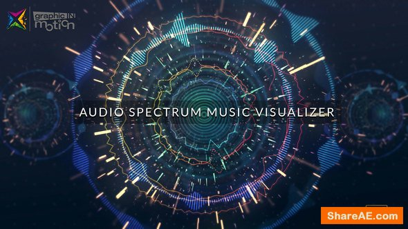 Videohive Audio Spectrum Music Visualizer 22546212