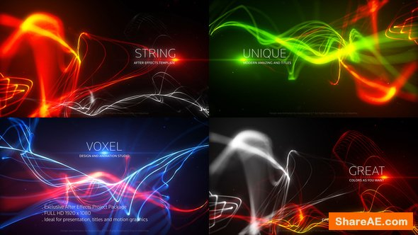 Videohive String Titles