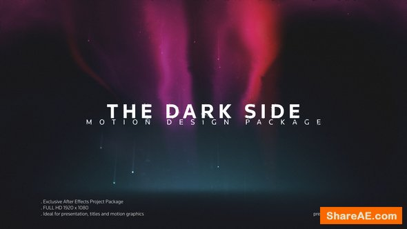 Videohive The Dark Side Titles