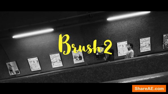 Videohive Brush 2-Animated Handwritten Typefaces