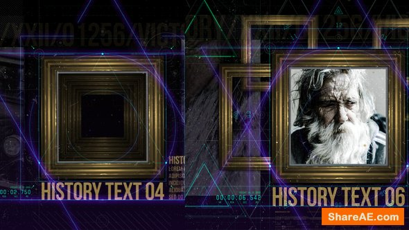 Videohive History in Frames