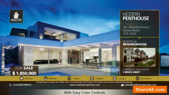 Videohive Real Estate Showcase