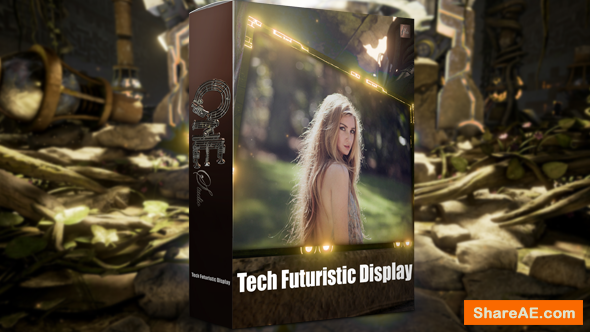 Videohive Tech Futuristic Display