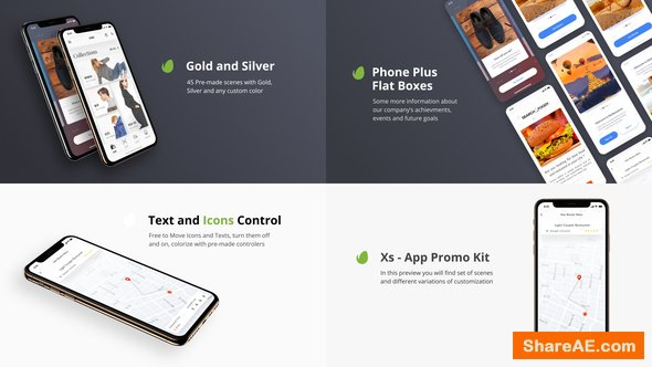 Videohive Xs - App Presentation Kit