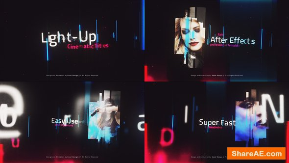 Videohive LightUP - Cinematic Titles