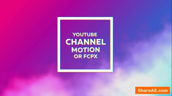 Videohive Glitch Youtube Channel Kit - Apple Motion